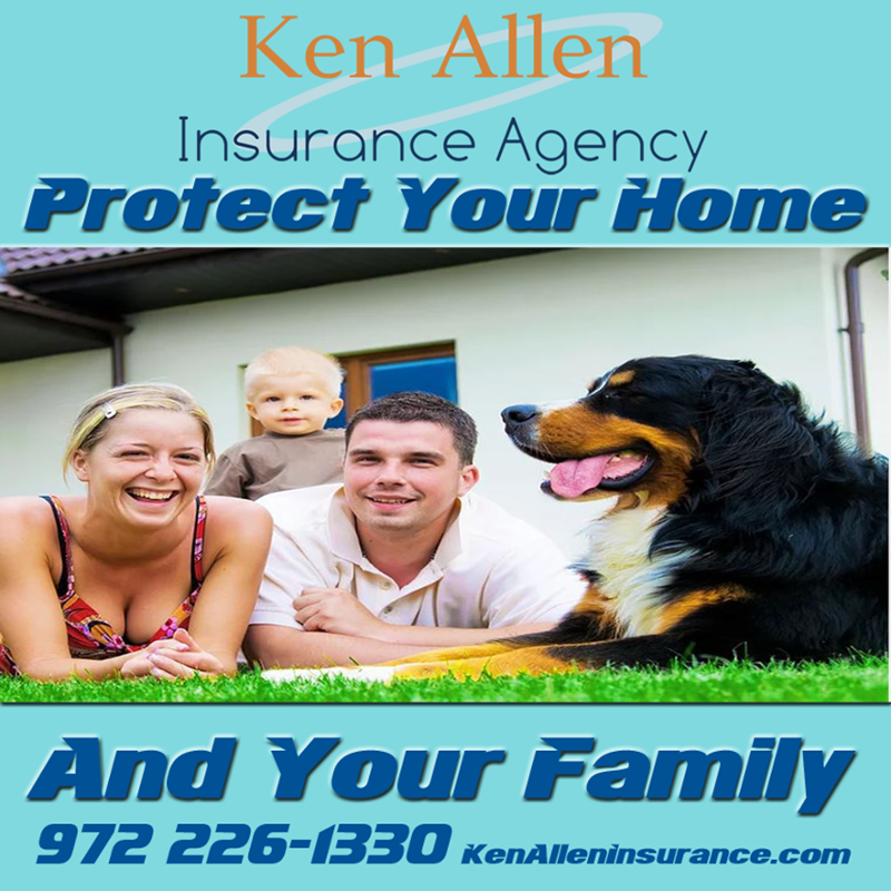 Protect your home and family with Ken Allen Insurance
