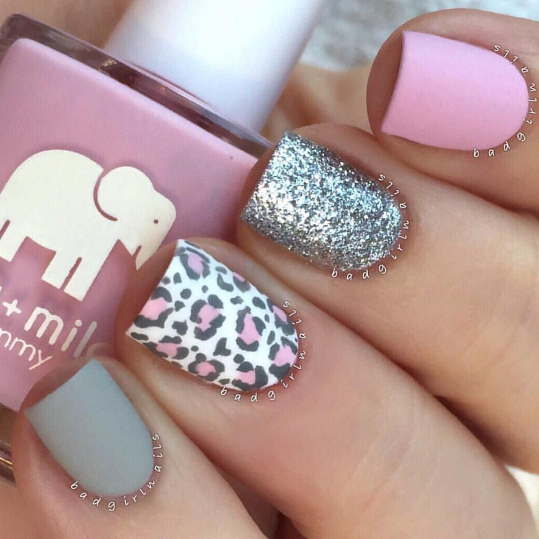 Uñas Decoradas Leopardo Gorgeous Badgirlnails Nails Pinterest Nails Nail