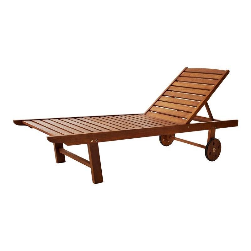 Mimosa Adjustable Timber Sunlounge I/N 3190286 | Bunnings Warehouse ...