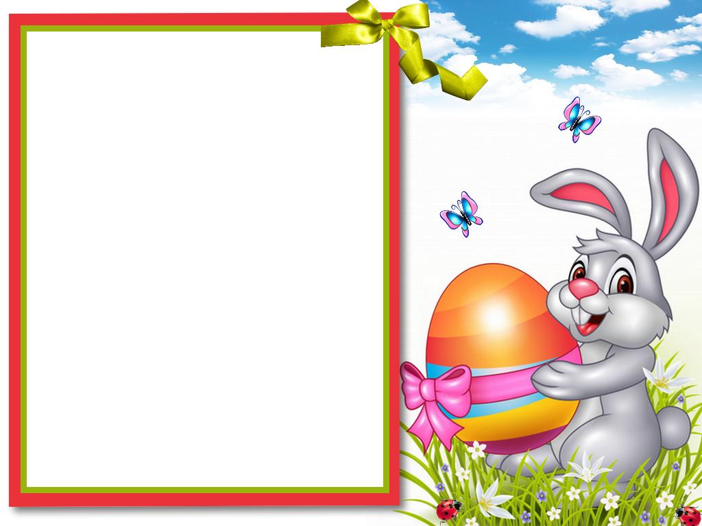 Easter Frame Png Frohe Ostern Ostern Bilder Osterbilder