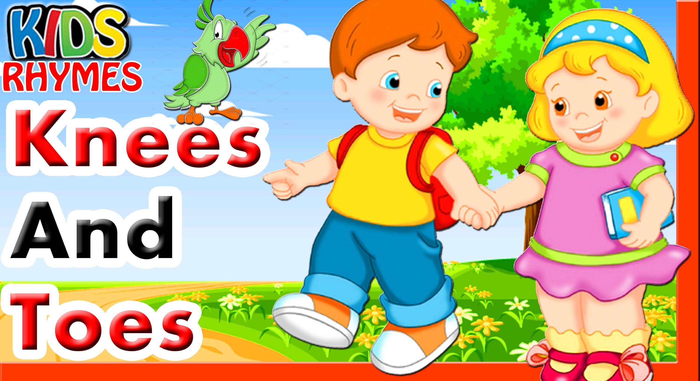 Knees And Toes Cartoon Animation Nursery Rhyme Hd Video By Kids Rhymes