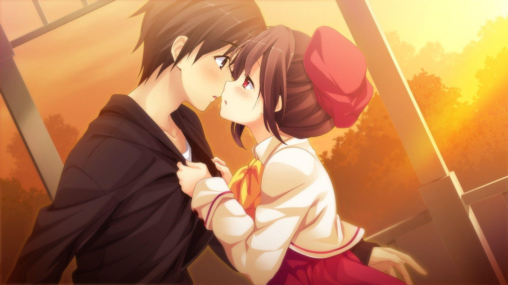 Hd Wallpaper Love Kiss Cartoon Free Wallpaper Hd