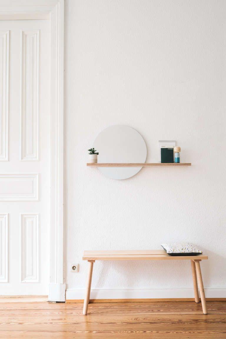 Diy Spiegel Mit Ablage Schlafzimmer Wandspiegel Spiegel Mit