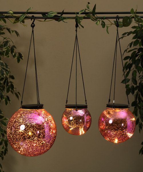Look At This Pink Orb Light Set On Zulily Today Orb Light Rose Gold Decor Pink Glass