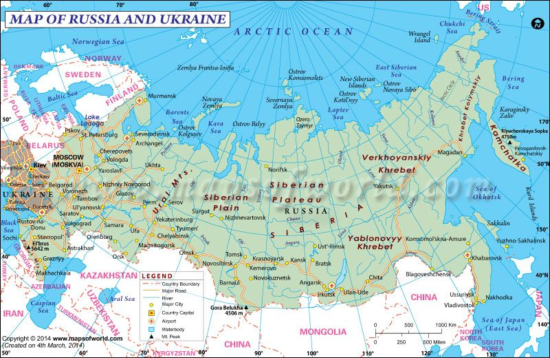 Map of Russia and Ukraine Maps Pinterest Ukraine Russia and