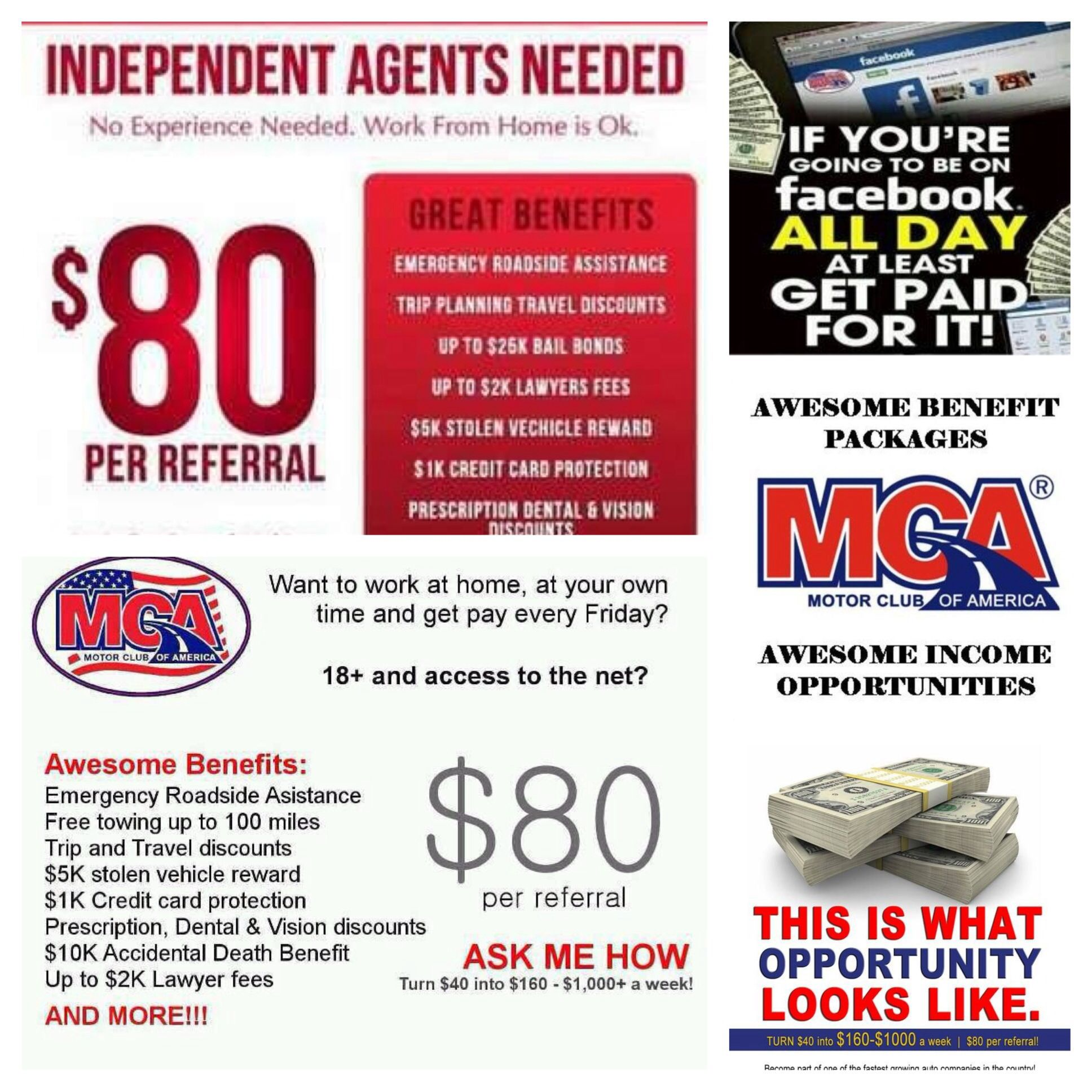 MCA is the best roadside assistance service in America  You