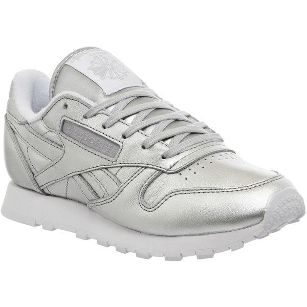 fe8c6098 Reebok Classic Leather Trainers (w) ($83) ❤ liked on Polyvore ...
