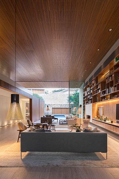 Home Interior Design Game Online: Tetris House: A Modern Brazilian Home Organized Just Like