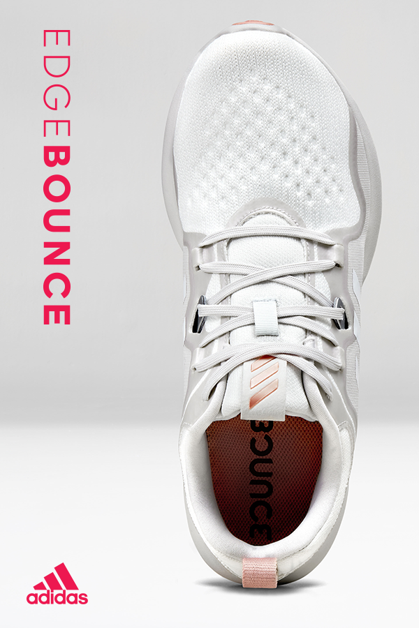 the latest ff357 2d575 Running shoes that perform from the studio to the street. Style them for  the gym or anywhere else you travel. The adidas Edgebounce has a women s  specific ...
