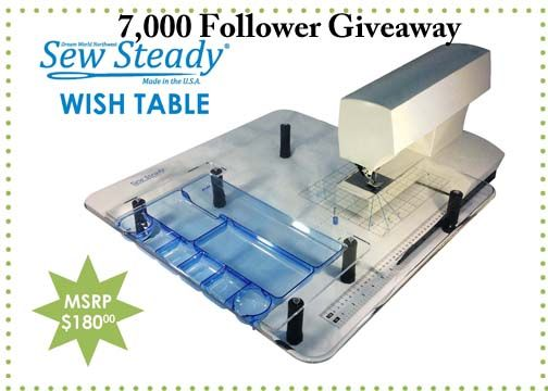 Check out our Facebook page for this awesome giveaway! Win a $180 Wish Table when we reach 7,000 followers, we are only 235 followers away! Keep sharing with your family and friends for a chance to win!