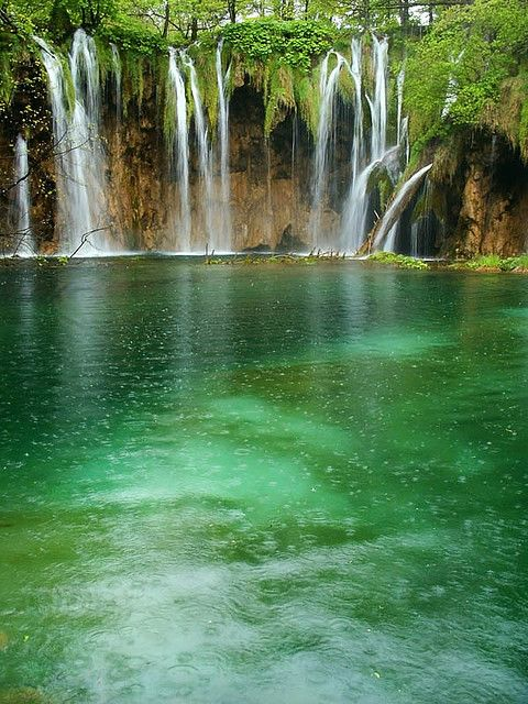 Beautiful Forest Waterfall Forest Waterfall Beautiful Forest Waterfall