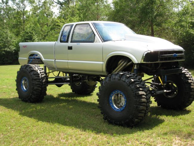 1996 chevy s 10 mud truck pickup truck for sale in outside muddin and trucks trucks. Black Bedroom Furniture Sets. Home Design Ideas