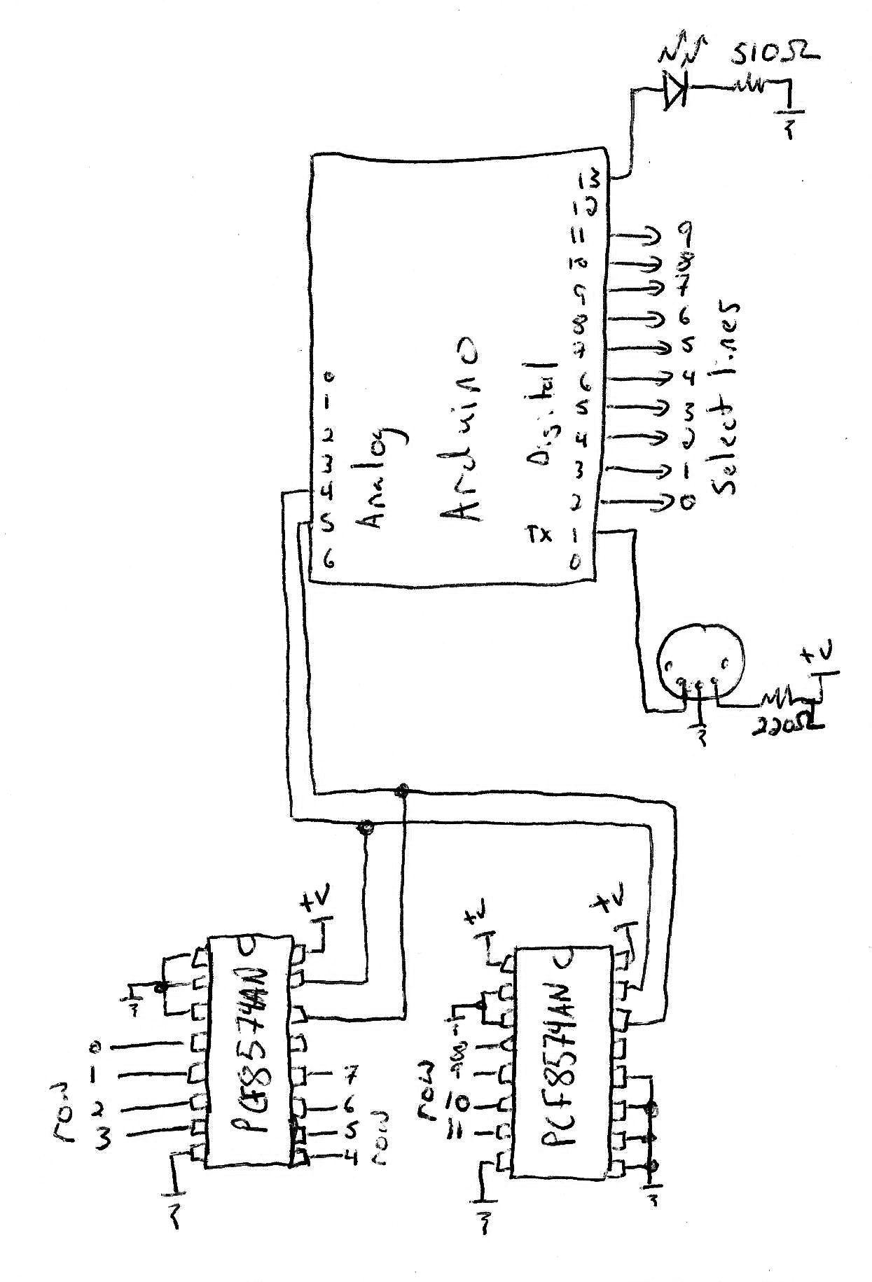 Keyboard Schematic