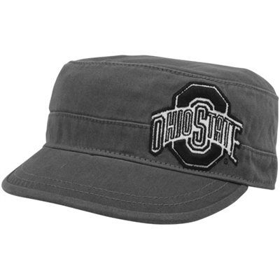 quality design c17b4 808cd Top of the World Ohio State Buckeyes Unisex Charcoal Mystique Adjustable  Cadet Hat