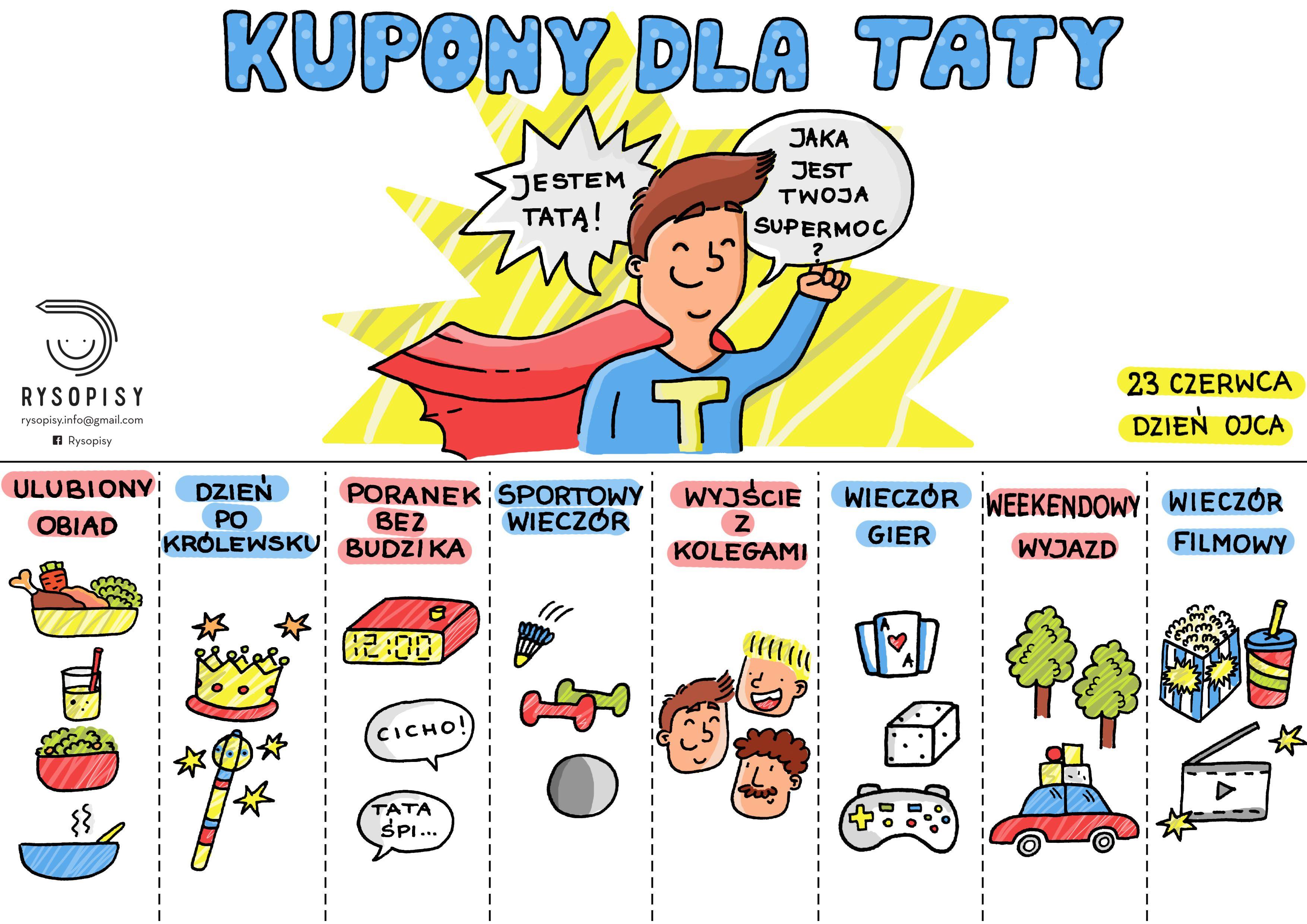 Kupony Dla Taty Rysopisy With Images Kupony Kupony Milosci