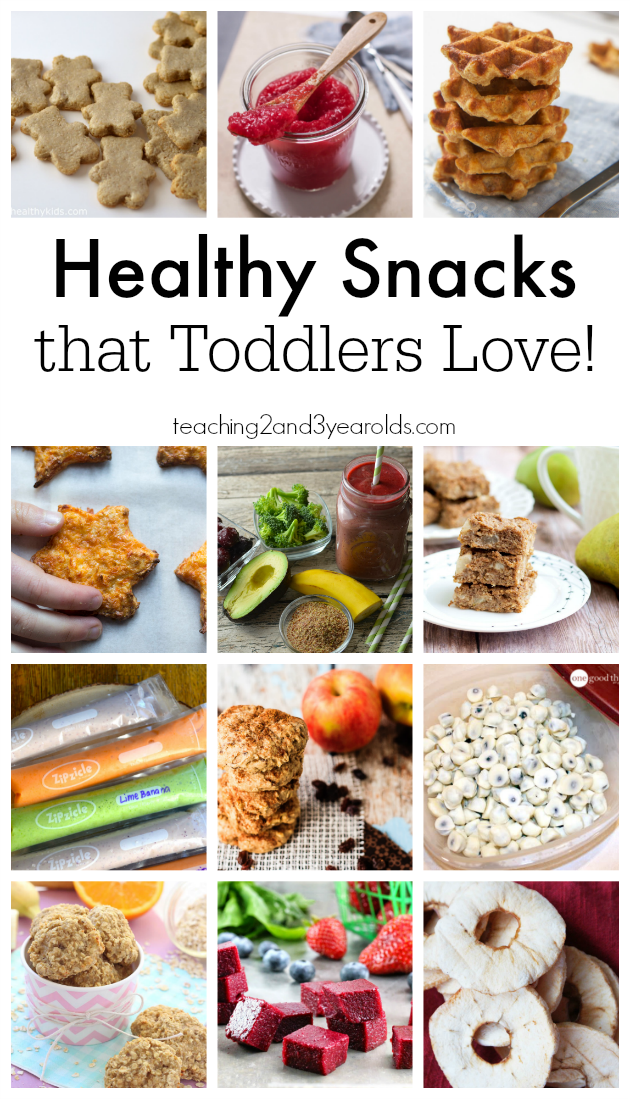 Healthy snacks for 1 year old on the go