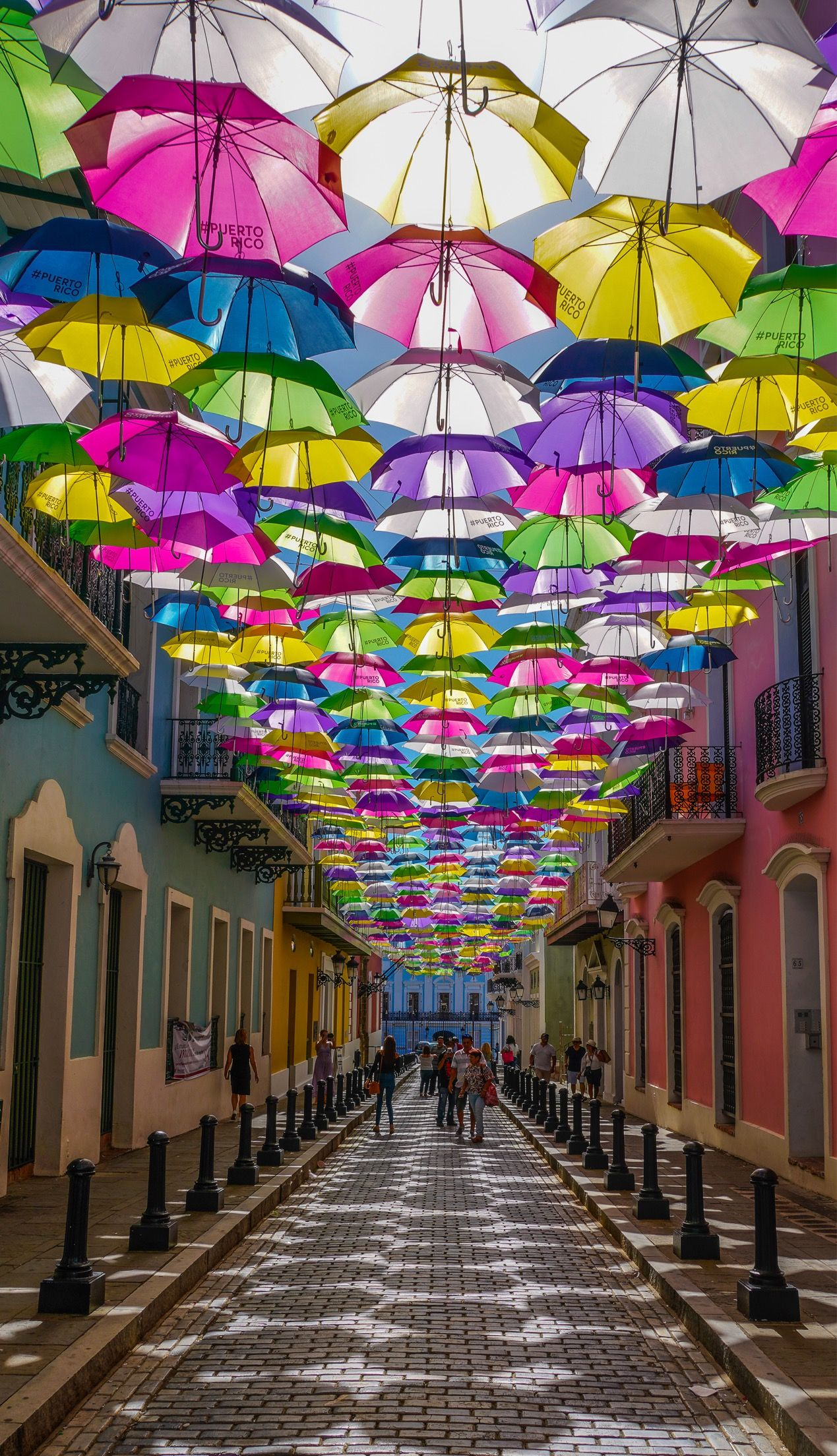 De Mi Isla Borinquena Calle Fortaleza Viejo San Juan
