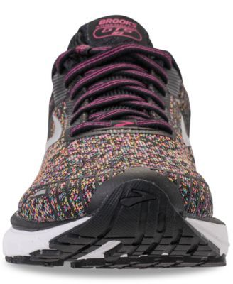 479522cf0804e Brooks Women s Adrenaline Gts 18 Running Sneakers from Finish Line - PINK  BLUE YELLOW 7.5