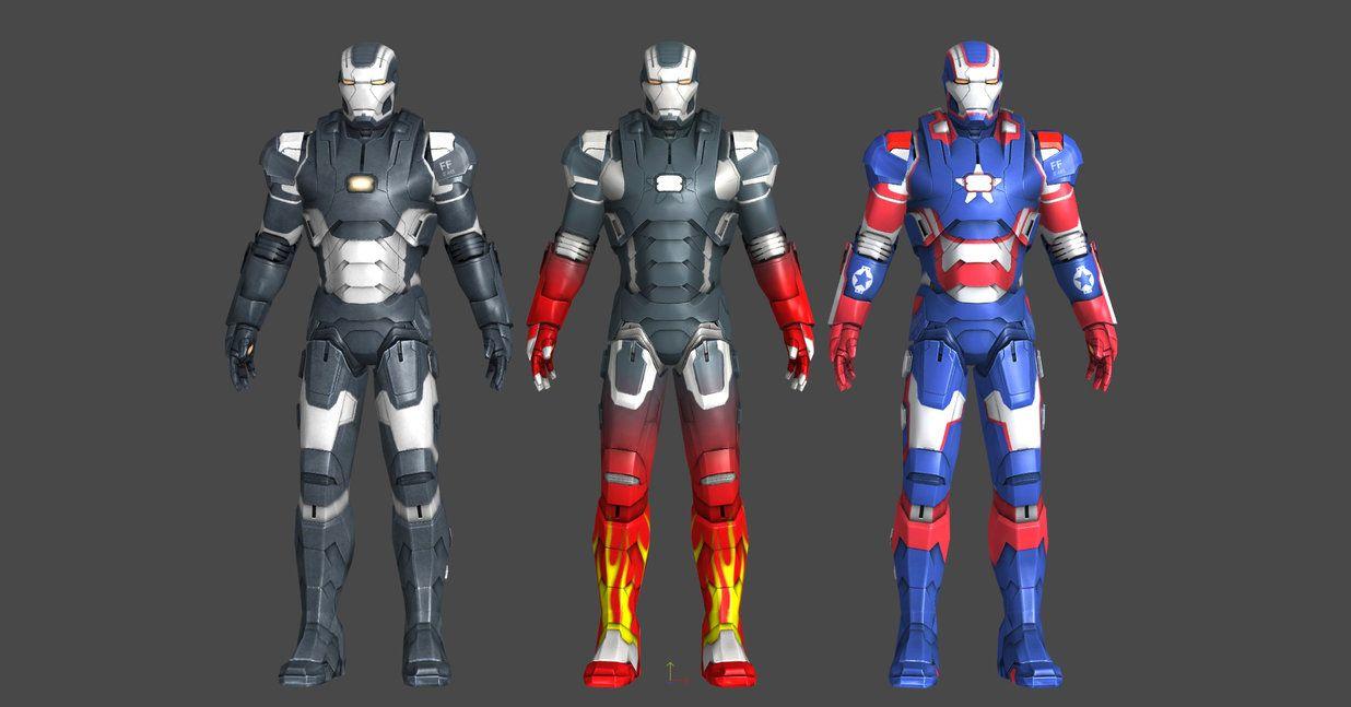 Iron Man 3 Wm Pack By Silkroad820420 Iron Man 3 Iron Man War Machine