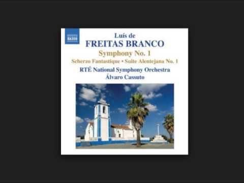 "Luís de Freitas Branco - ""Symphony No. 1"" disco ""Orchestral Works 1"" (2008) - YouTube"