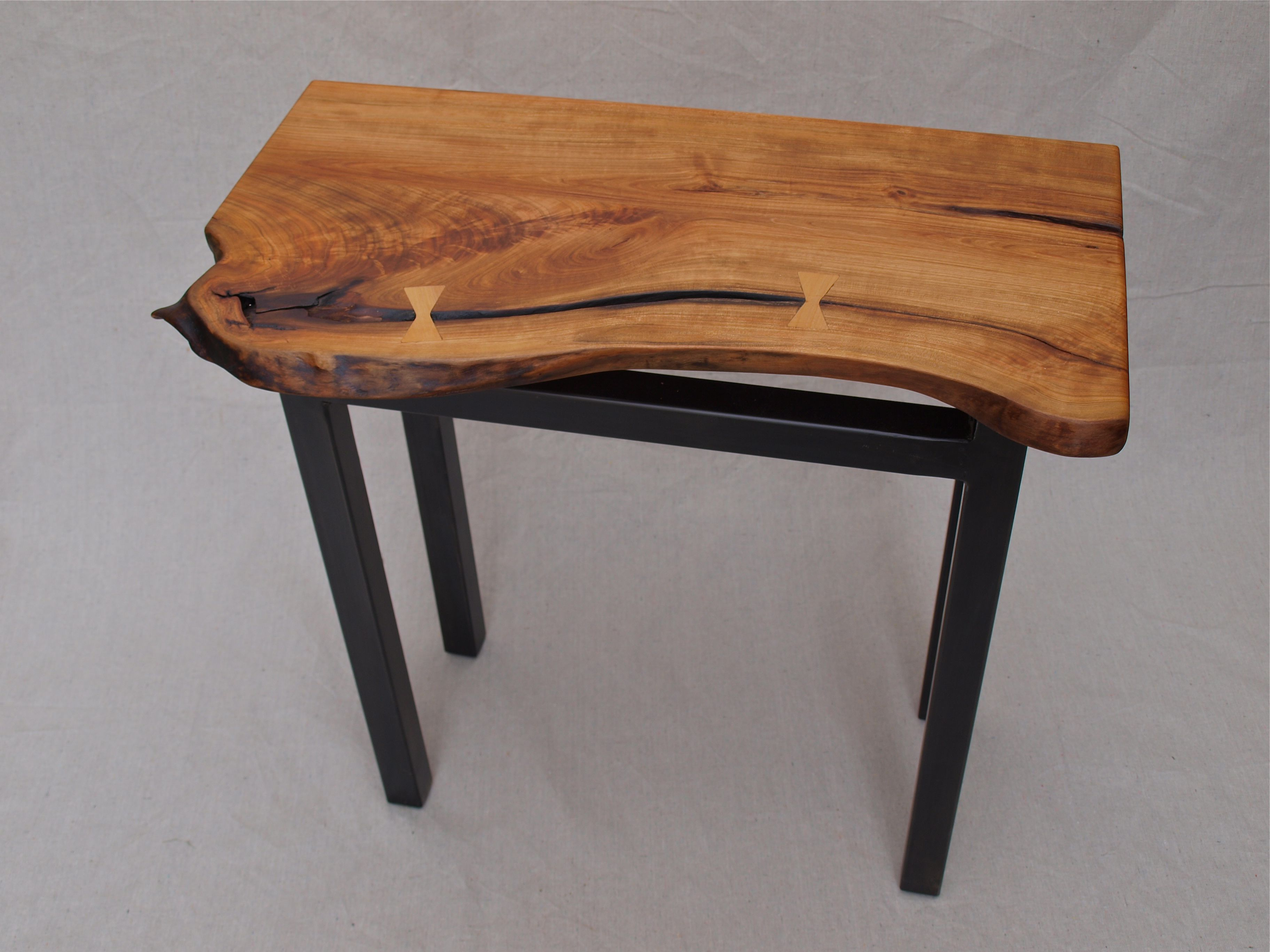 Live Edge End Table   Google Search