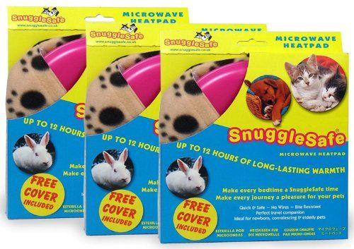3 Pack Snugglesafe Microwave Heat Pad Snuggle Safe