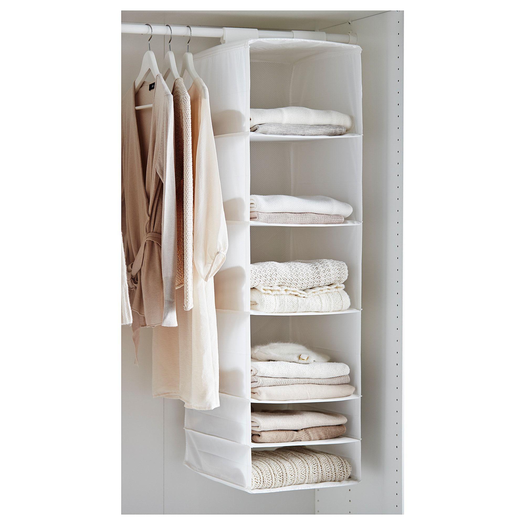 SKUBB white, Storage with 6