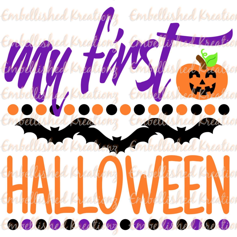 halloween decormy 1st halloween with pumpkin1stspider vinyl decal halloween diybabys first halloween shirthalloween backdrop by embellishedkreationz