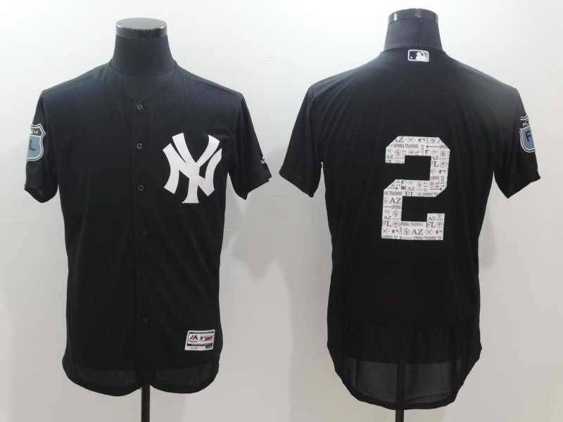 22 each 2017 MLB Baseball Spring Training Jerseys New York Yankees  2  Derek Jeter Stitched Jersey ffd16d3e93c