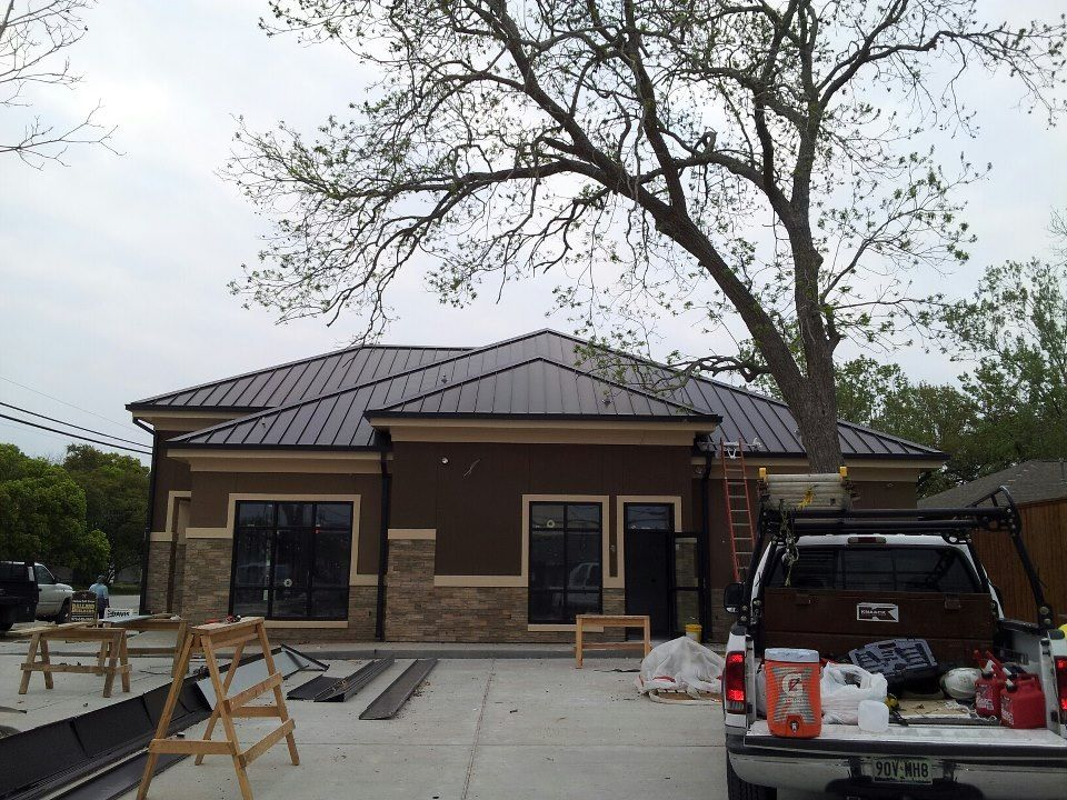 Best Medical Office Bronze Colored Standing Seam Windstorm 640 x 480