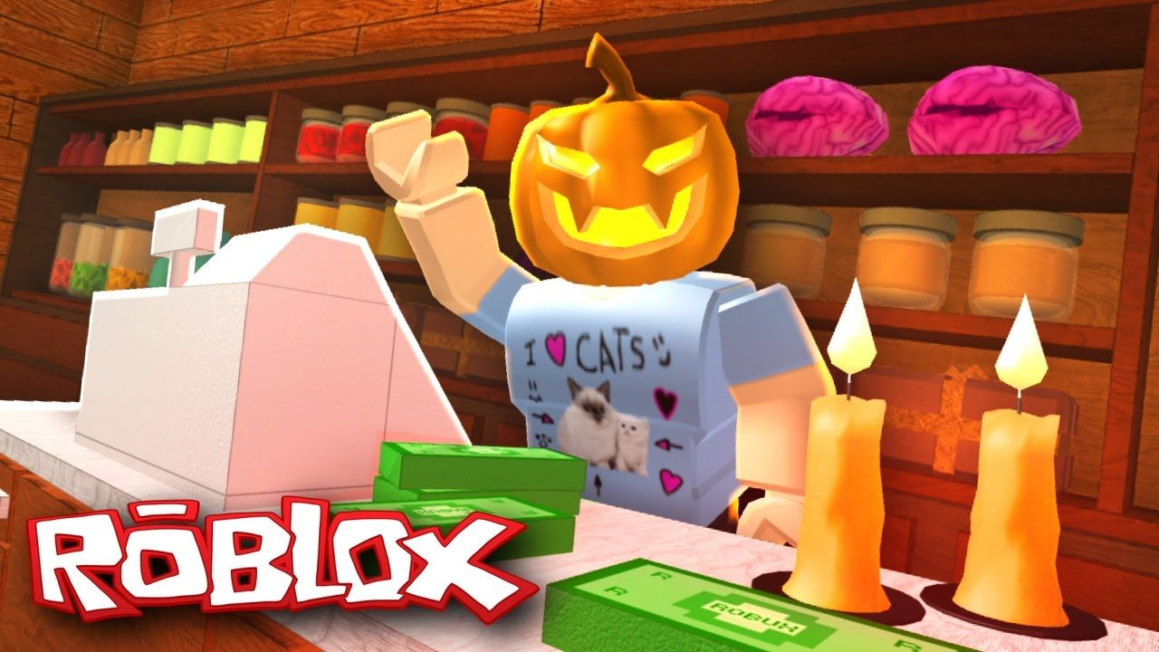 Roblox Halloween Retail Tycoon Opening A Halloween Store
