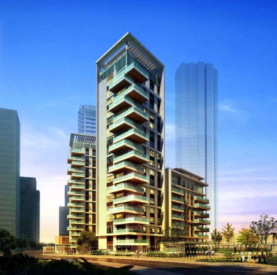 Residential building ed residenciais housing Modern residential towers