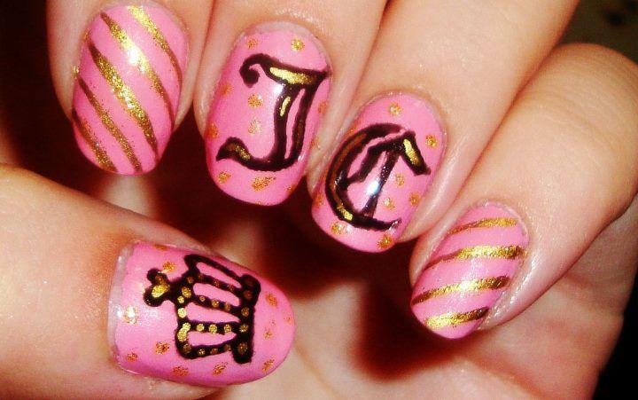 Juicy Couture Nails Pinterest Juicy Couture Gorgeous Nails
