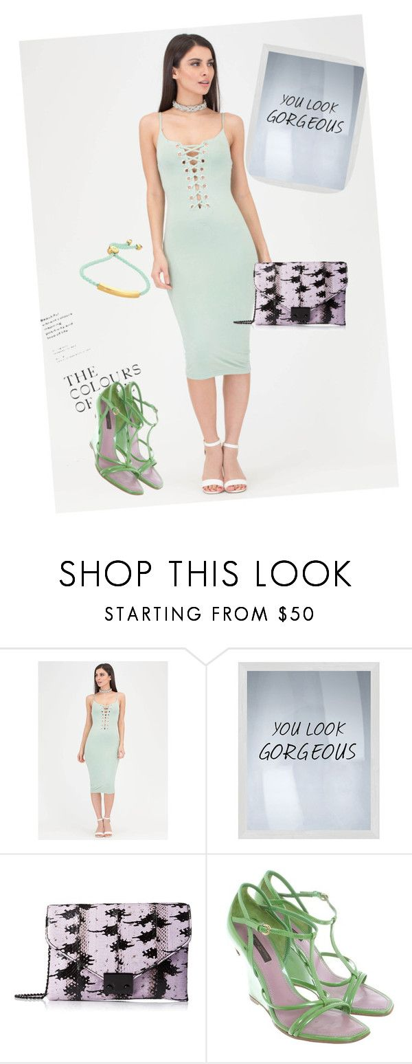 """dress"" by masayuki4499 on Polyvore featuring Too Late, PTM Images, Loeffler Randall, Louis Vuitton and Monica Vinader"