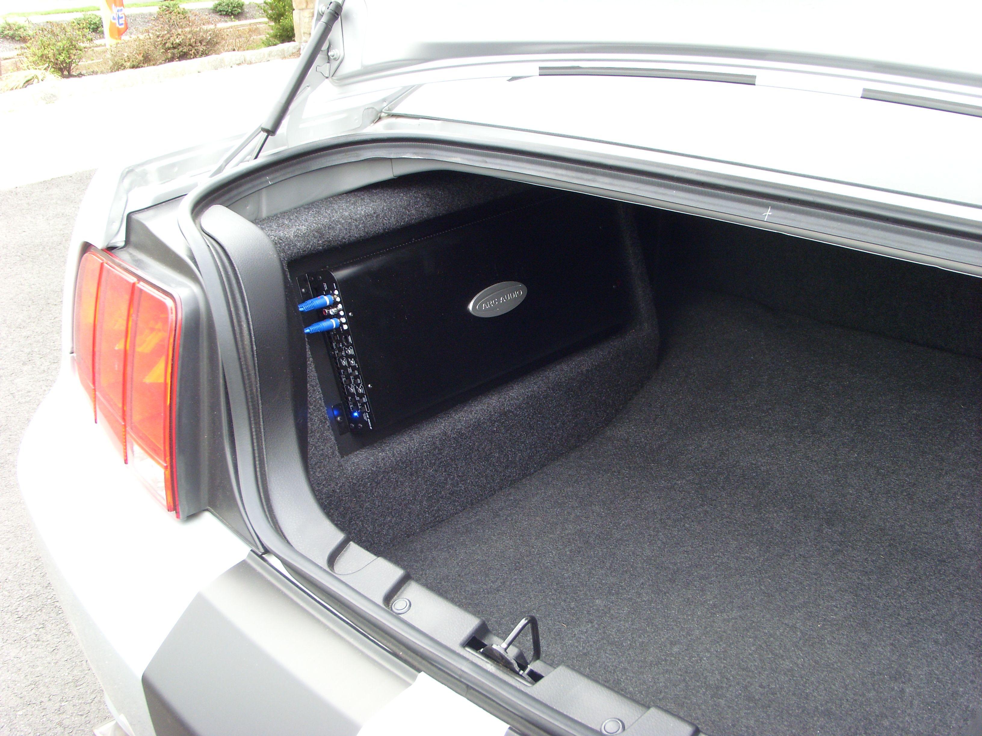 Sound Auto Mustang Amp Rack Car Audio Pinterest