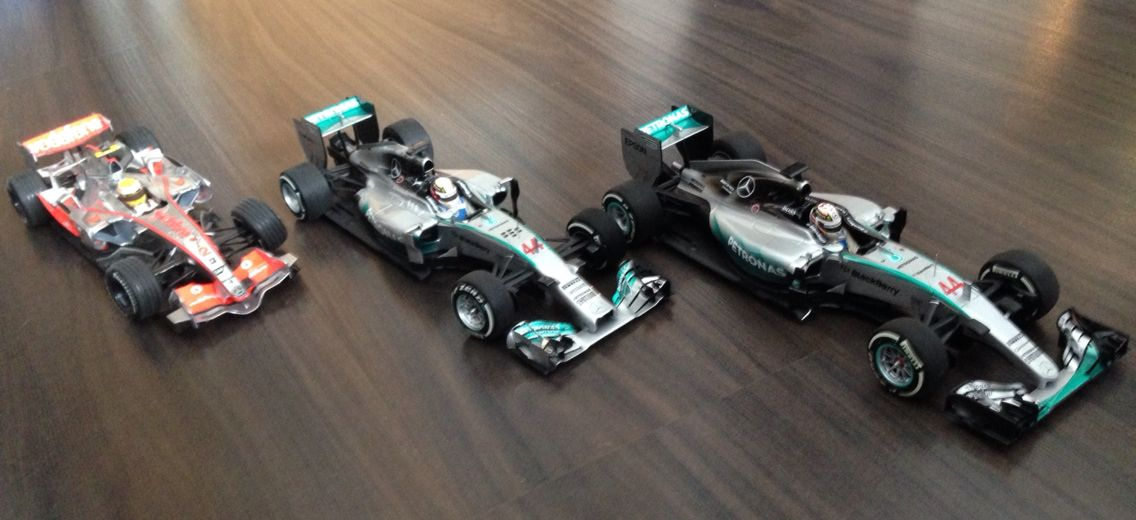 Hamiltons Worldchampioncars