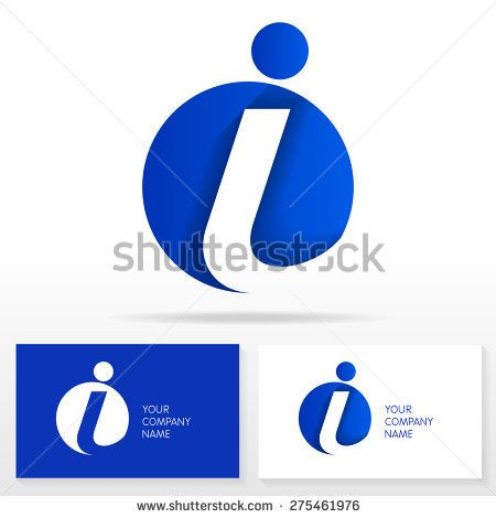 Letter I Logo Icon Design Template Elements Vector Sign Business