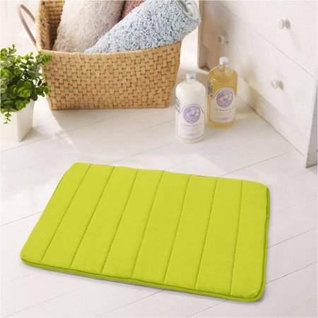 Absorbent Soft Memory Foam Bath Bathroom Bedroom Floor Mat Shower Rug Non-slip