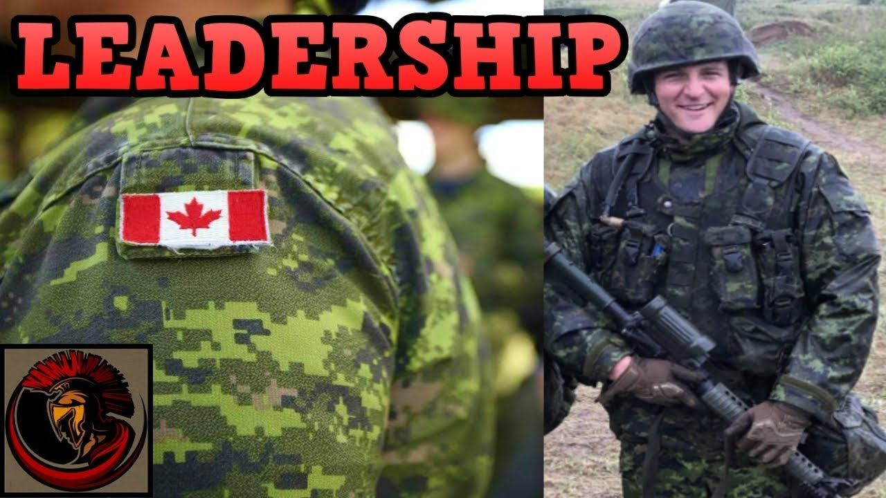 Leadership I M Home Canadian Army Primary Leadership Course Leadership Courses Canadian Army Leadership