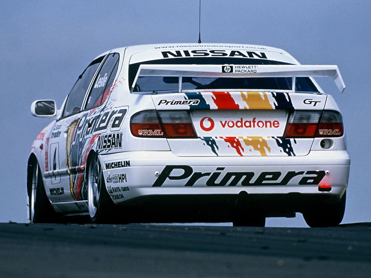 Nissan Primera Btcc, Nissan primera, Nissan