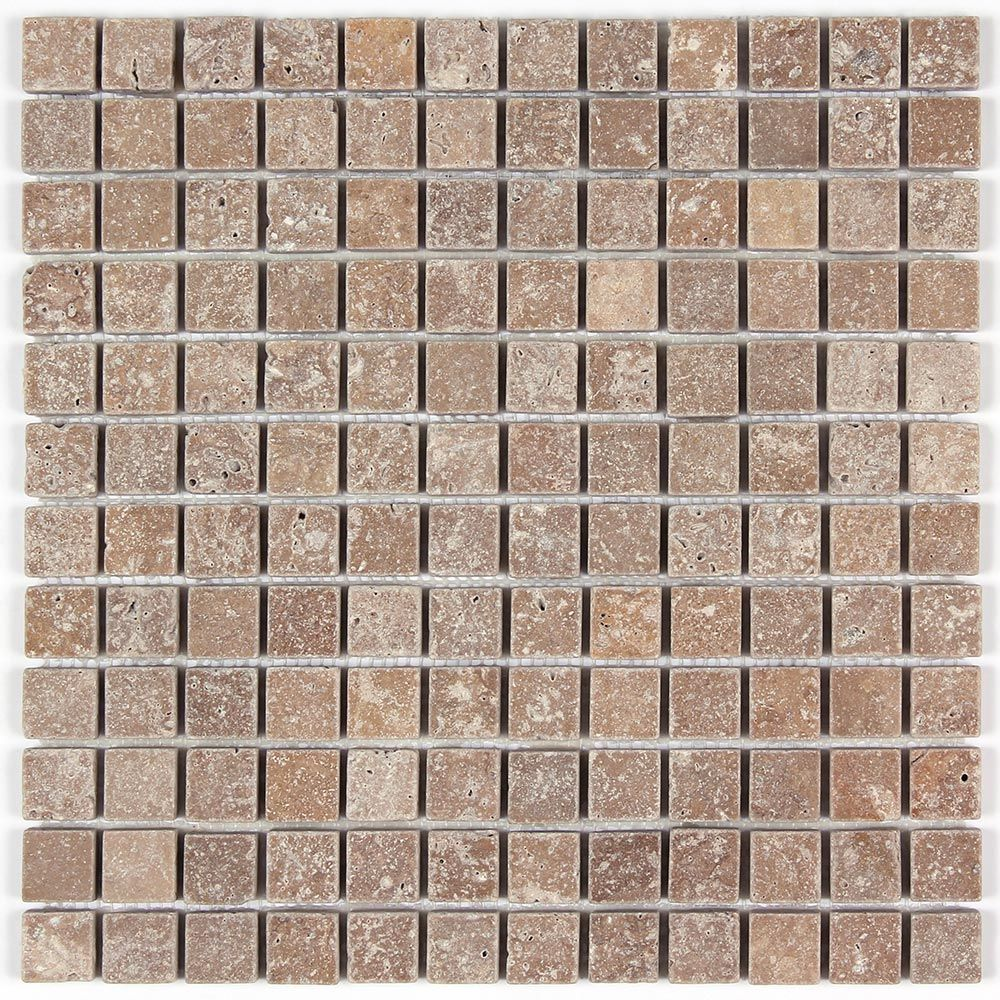 Noce travertine tumbled 1x1 floor and wall mosaic tile from http noce travertine tumbled 1x1 floor and wall mosaic tile from httpallmarbletiles doublecrazyfo Gallery