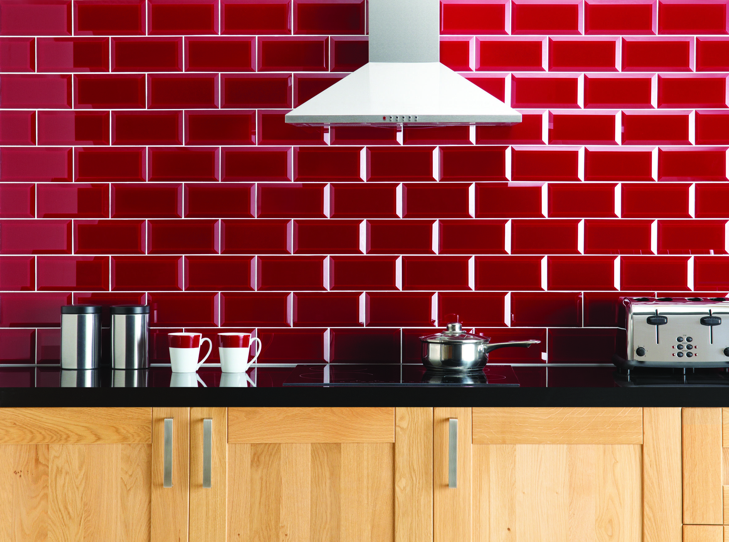 Red Brick Kitchen Wall Tiles Google Search With Images Brick