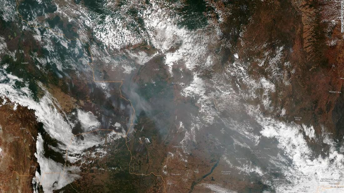 The Vast Majority Of The Amazon Rainforest Fires Have Been Set By