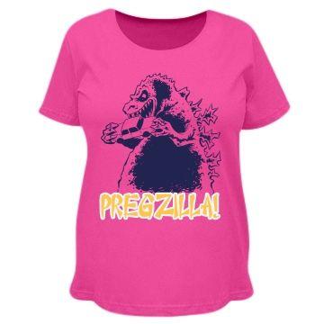 e3fb5c81d432c Pregzilla Destruction   Warn everyone that pregzilla is near! Customize  your very own maternity shirt in the design center!