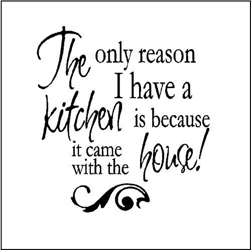 Funky Kitchen Wall Quote Decals Sarcastically Funny You