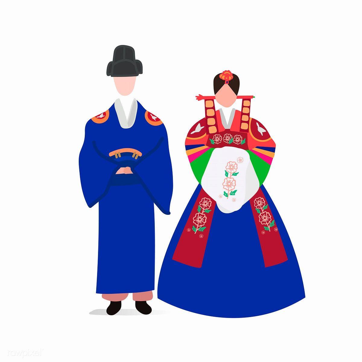 Download Premium Vector Of South Korean Traditional