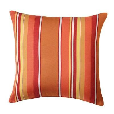 Delicieux Home Decorators Collection Sunbrella 18 In. Dorset Mango Square Outdoor  Throw Pillow 2288110570