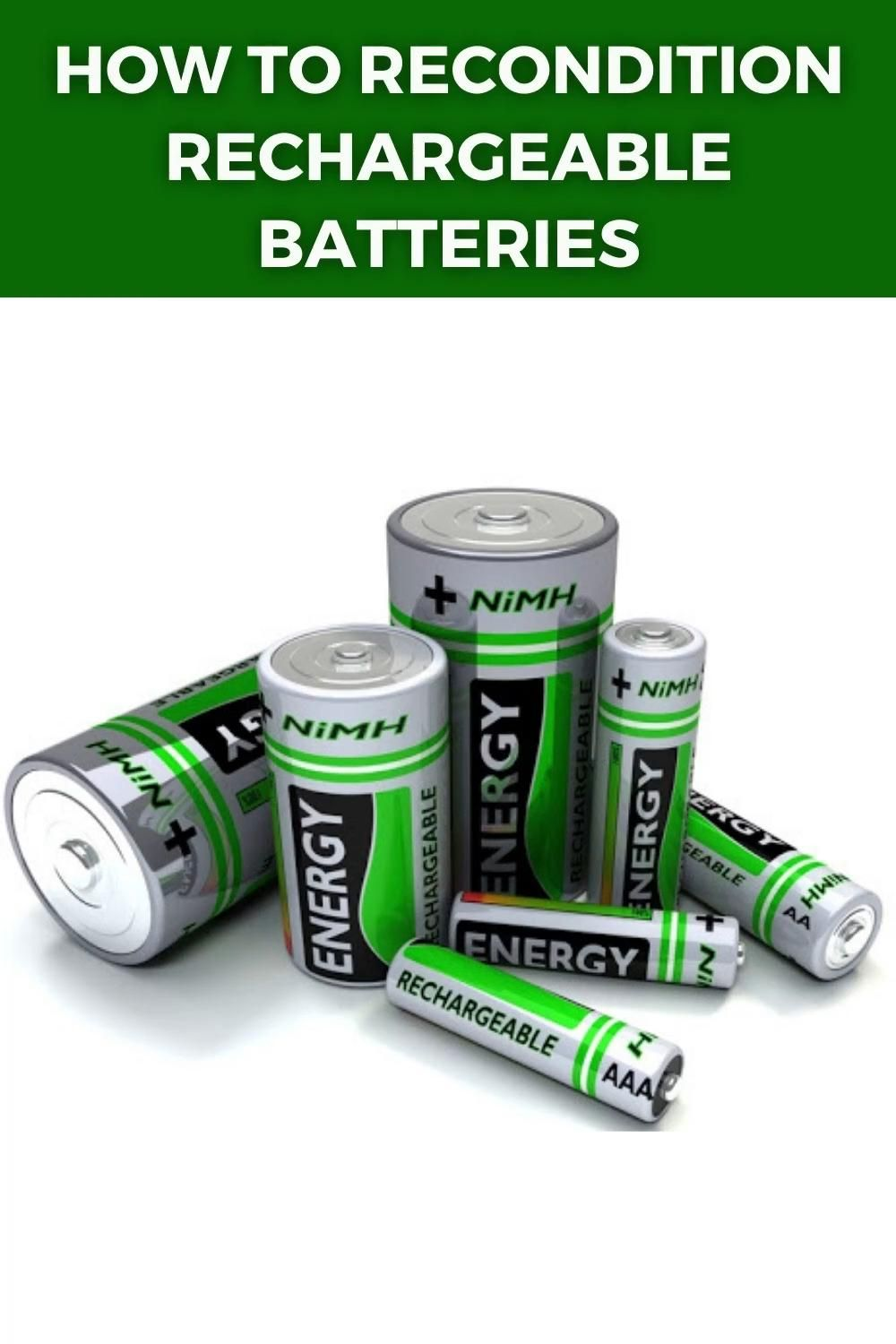 How To Restore A Battery Reconditioning Nicad Batteries Battery Reconditioning Business Fix It Video Recondition Batteries Batteries Diy Battery Repair
