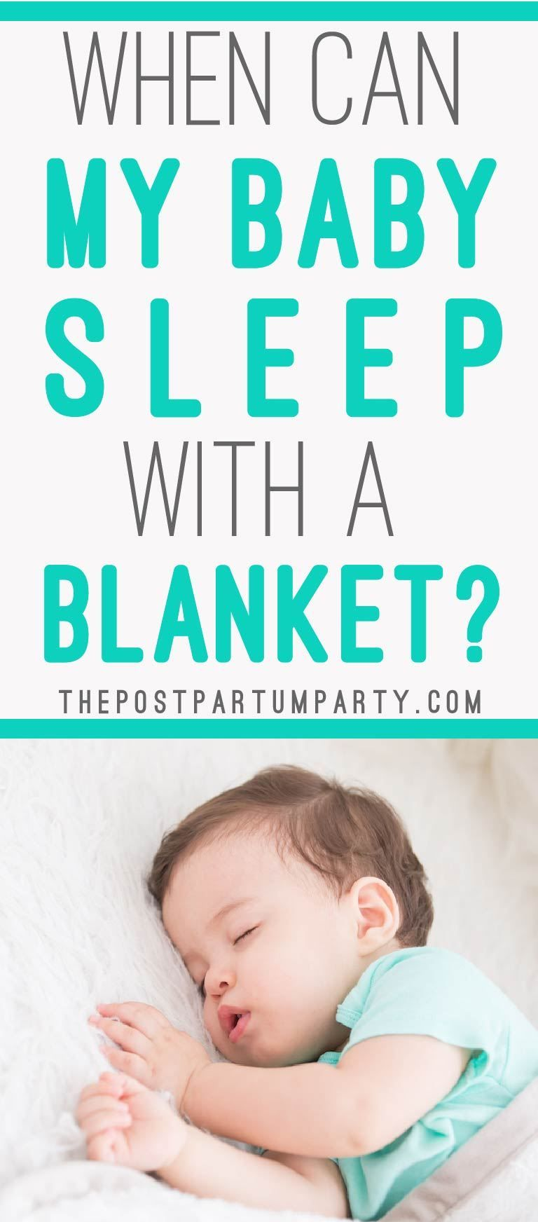 Wondering when your baby can sleep with a blanket? Find ...