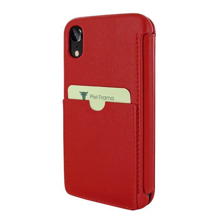 7e638b1ba72 Piel Frama iPhone XR Utter Leather Case - Red | Piel Frama Cases ...